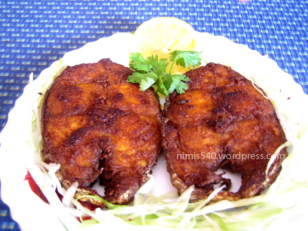 Easy fish fry nimmy 39 s experiment with blogging for What is the best oil for frying fish