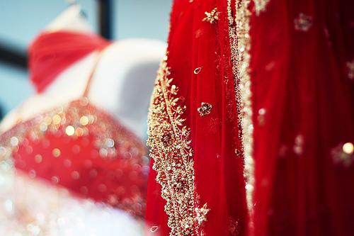 red-sari